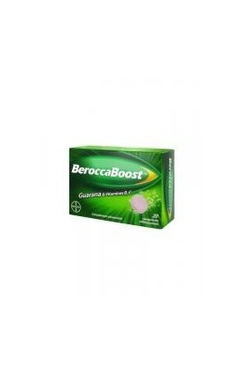 Berocca Boost Effervescent 20 Tablets