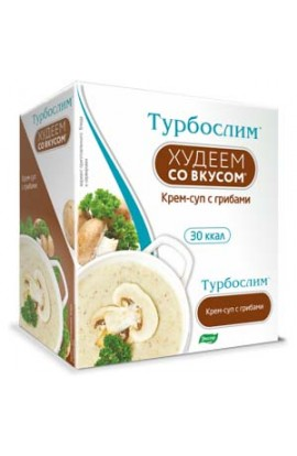 "Evalar Turboslim ""Lose weight with taste"". Cream soup with mushrooms"