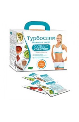 "Evalar Turboslim ""Lose weight with taste"" protein diet 458g"