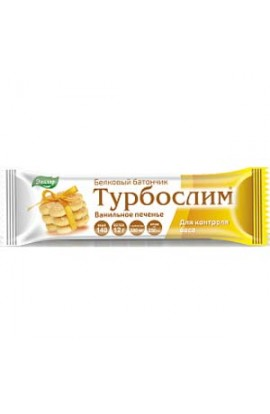 "Evalar Turboslim protein bar ""Vanilla cookie"" 50g"