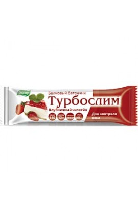 "Evalar Turboslim protein bar ""Strawberry cheesecake"" 50g"