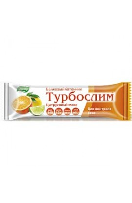"Evalar Turboslim protein bar ""Citrus Mix"" 50g"