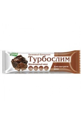 "Evalar Turboslim protein bar ""Chocolate cake"" 50g"