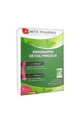 Forte Pharma Detox Slimness Program 30 Phials