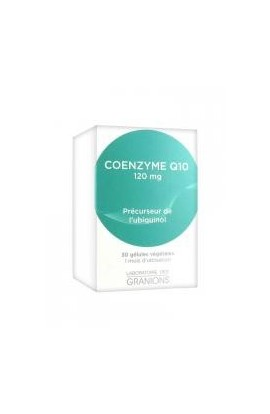 Granions Coenzyme Q10 120mg 30 Capsules
