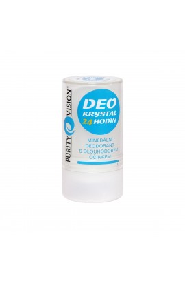 PURITY VISION, DEO CRYSTAL 24 HOURS, 120 G