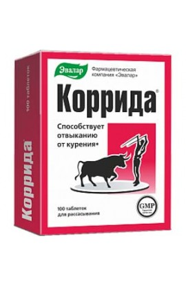 Evalar Bullfight 100 tablets