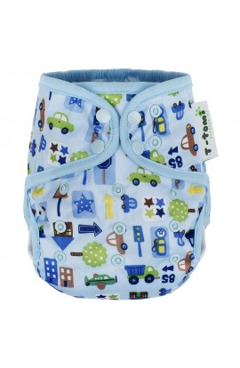 T-TOMI Upper panties, Blue cars