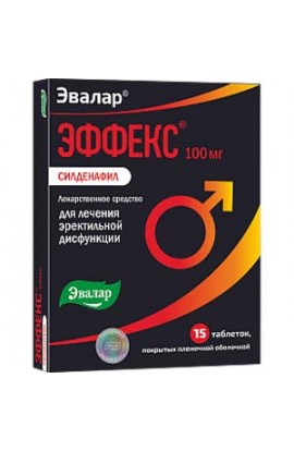 Evalar Effect of Sildenafil 15 tablets