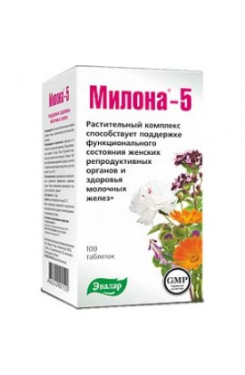 Evalar Milona-5 for maintaining the health of the breast 100 tablets
