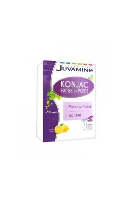 Juvamine SOS Excess of Weight Konjac 21 Sticks