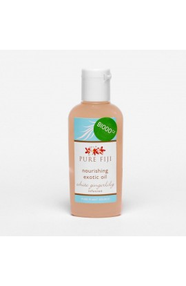 PURE FIJI, EXOTIC MASSAGE AND BATH OIL, GINGER, 29 ML