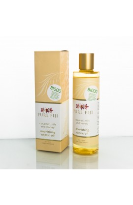 PURE FIJI, EXOTIC MASSAGE AND BATH OIL, MILK & HONEY, 236 ML