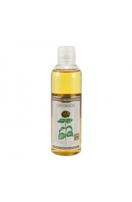 NOBILIS TILIA, BODY AND MASSAGE OIL NEUTRAL, 200 ML