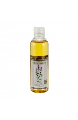 NOBILIS TILIA, BODY AND MASSAGE OIL THE INFLUX OF ENERGY, 200 ML
