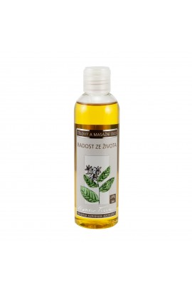 NOBILIS TILIA, BODY AND MASSAGE OIL THE JOY OF LIFE, 200 ML