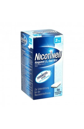 Nicotinell 2mg Cool Mint (96 pcs)
