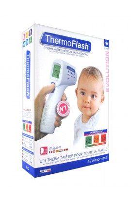 Visiomed ThermoFlash LX-260T: thermometer without direct contact