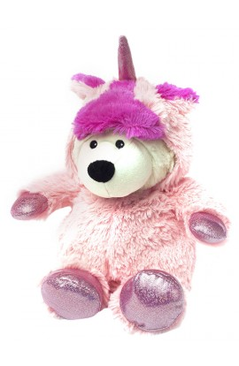 Soframar Familie Einhorn Moutlic Rose Hot Water Bottle