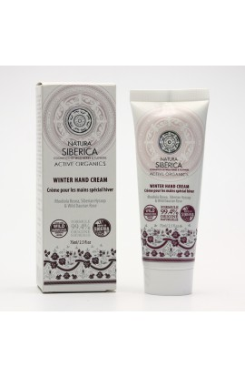 NATURA SIBERICA, WINTER HAND CREAM, 75 ML