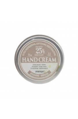 SPORTIQUE, CREAM FOR HANDS AND NAILS JASMINE & HIBISCUS, 75 ML
