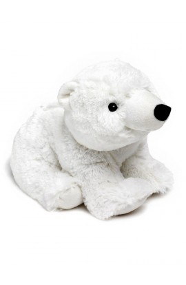 Soframar Cozy plush hot water bottle polar bear