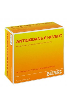 Antioxidant E Hevert Softgels (100 pcs)