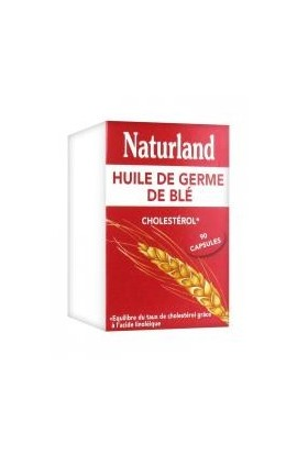 Naturland Wheat Germ Oil 90 Capsules