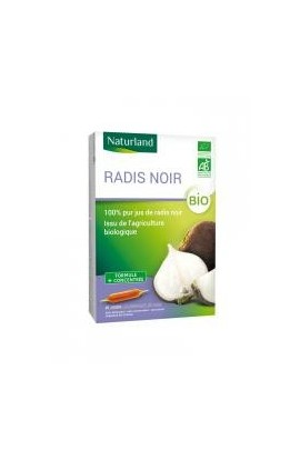 Naturland Black Radish 20 Drinkable Phials of 10ml