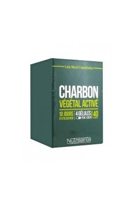 Nutrisante Activated Charcoal 40 Capsules