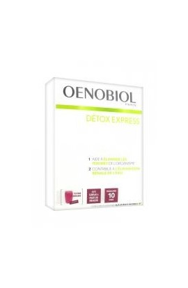 Oenobiol Detox Express Elderberry Dragon Fruit 10 Sticks