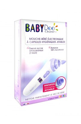 Visiomed BabyDoo Electronic MX One nose cleaner for babies