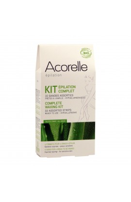 ACORELLE, SET DEPILATORY STRIPS, 4 KINDS OF, 32 PCS