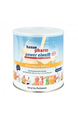 Hansepharm Power protein plus vanilla powder (750 g)