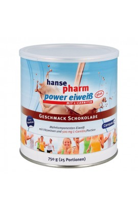 Hansepharm Power protein plus chocolate powder (750 g)