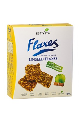 ESTVITA Flaxseed flakes with apple and cinnamon 150g