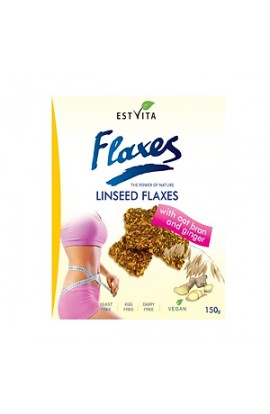 ESTVITA Flaxseed flakes with oat bran and ginger 150g