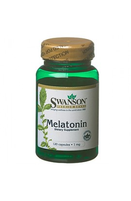 Swanson Melatonin 1 mg, 120 capsules