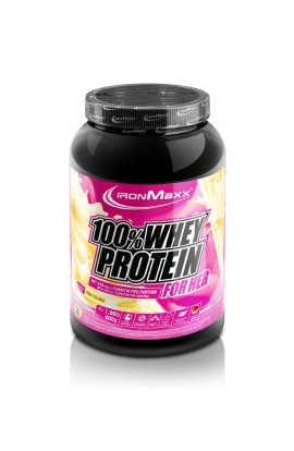IronMaxx 100% SERUM PROTEIN FOR HER (900 g). Pina colada