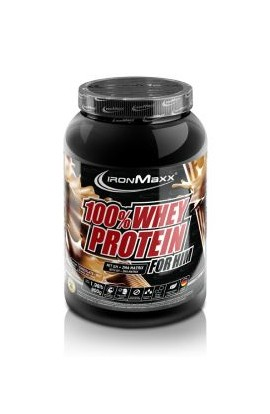 IronMaxx 100% SERUM PROTEIN FOR HIM (900 G TIN). Dark almonds
