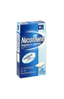 Nicotinell 4mg Cool Mint (24 pcs)