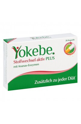 Yokebe Plus Metabolism Active Capsules (28 pcs)