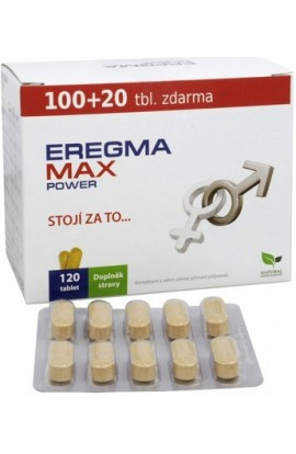 Natural Medicaments Eregma Max Power 120 tbl