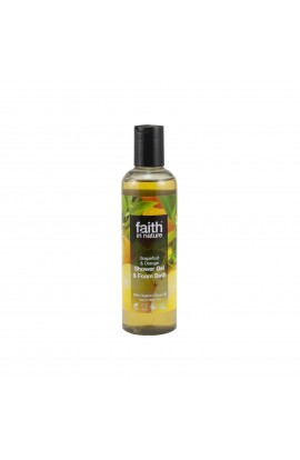 FAITH IN NATURE, SHOWER GEL GRAPEFRUIT & ORANGE, 250 ML