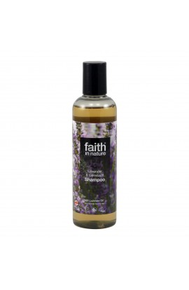 FAITH IN NATURE, SHOWER GEL LAVENDER & GERANIUM, 250 ML