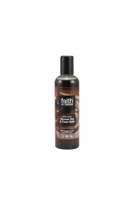 FAITH IN NATURE, SHOWER GEL CHOCOLATE, 250 ML
