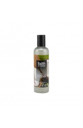 FAITH IN NATURE, SHOWER GEL COCONUT, 250 ML