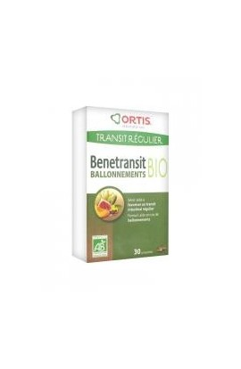 Ortis Organic Benetransit Bloating 30 Tablets