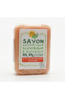 CIGALE BIO, SOAP WITH ORANGE OIL, 100 G