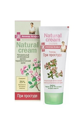 Recipes grandmother Agafia First-aid kit Agafia Cream Natural Cream thyme 75 ml